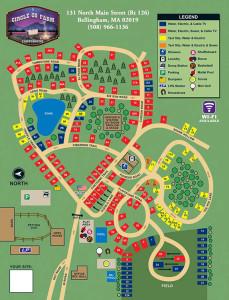 circle cg farm campground sitemap