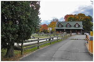 entrance building at circle cg farm
