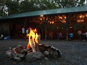 campfire at circle cg farm