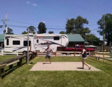 fun and games at circle cg farm campground in ma