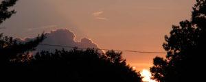 Circle CG Farm Campground - beautiful sky