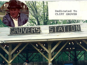 grovers station dedicated to cliff grover